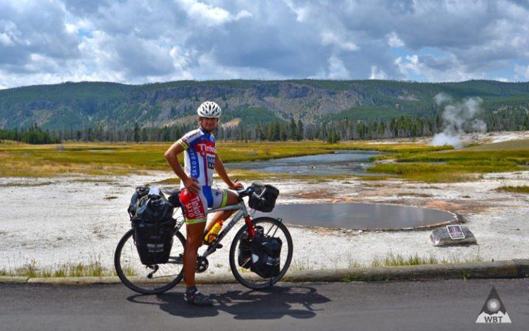 Podnikateľ Karol Voltemár procestoval svět na kole