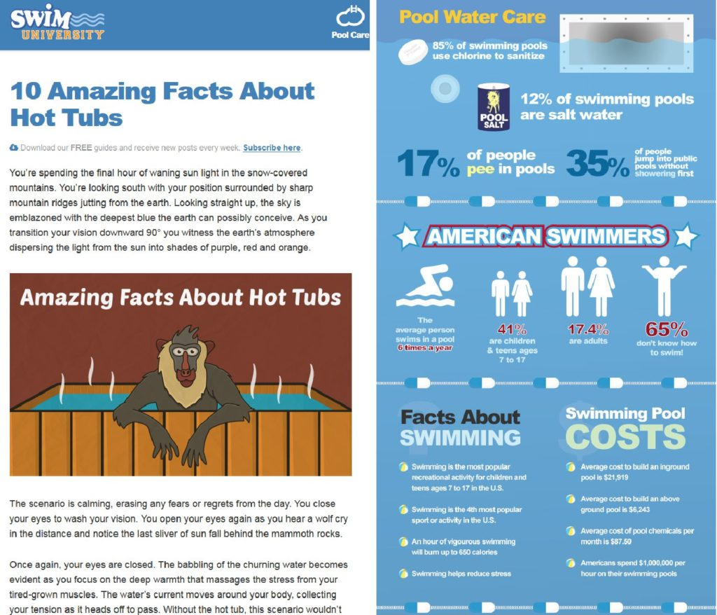 Infografika blogu