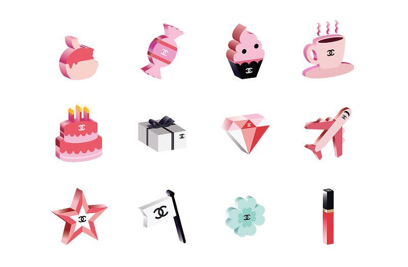 Kolekce emoji Chanel