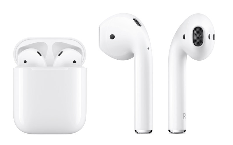 Apple sluchátka