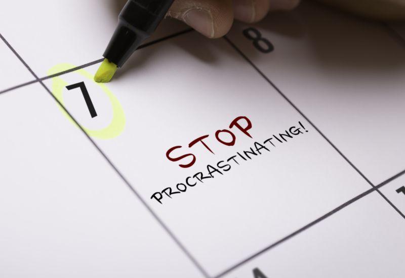 Zastavme prokrastinaci
