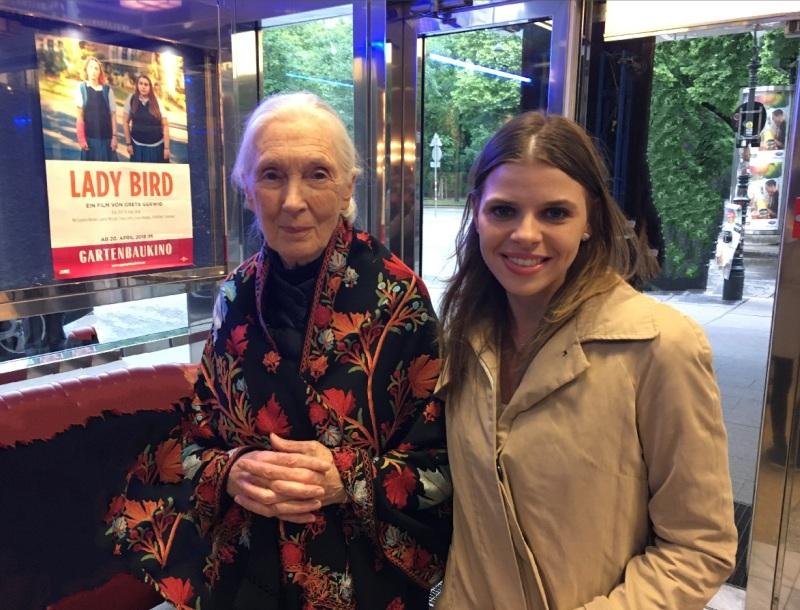 Dominika s Jane Goodall